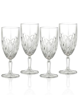Marquis by Waterford Stemware, Set of 4 Brookside Iced Beverage Glasses