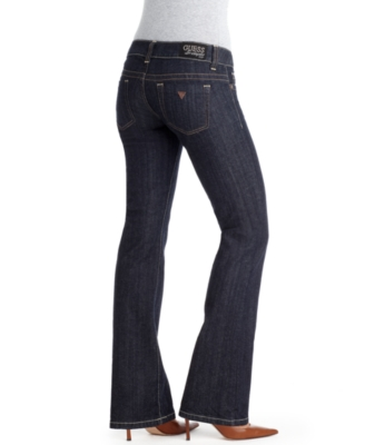 GUESS Jeans, Stretch Daredevil Boot Cut Dark Wash