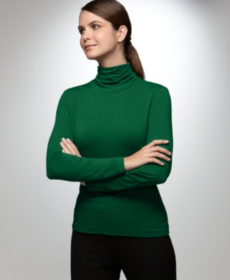 Alfani Top, Perfect Turtleneck Knit