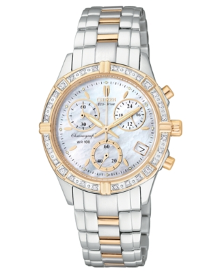 Citizen Watch, Women's Eco Drive Stainless Steel Bracelet FB1184-55D
