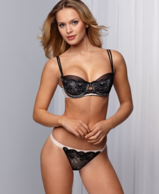 Jezebel Bra, Coco Contour Demi Push Up with Removable Pads