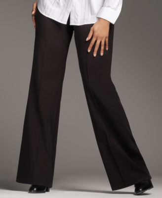 Alfani Plus Size Pants, Suiting