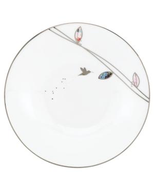 Lenox Lifestyle Dinnerware, Set of 4 Silver Song Dessert Plates