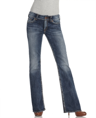 Silver Jeans, Boot Cut Original Fit Suki, Dark Wash