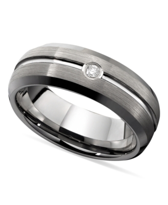Men's Ring, Tungsten Band
