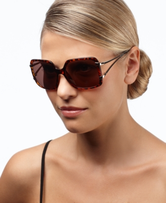 Nine West Sunglasses, Geometric Square