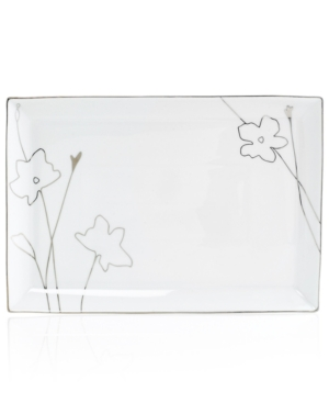 Charter Club Dinnerware, Grand Buffet Platinum Silhouette Rectangular Platter