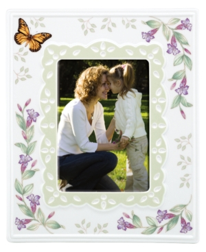 "Lenox Picture Frame, Butterfly Meadow 5"" x 7"""