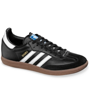 adidas Originals Shoes, Leather Samba Sneakers Men's Shoes