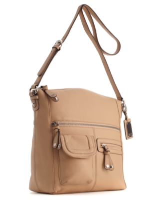 Tignanello Handbag, Multi Pocket Hobo