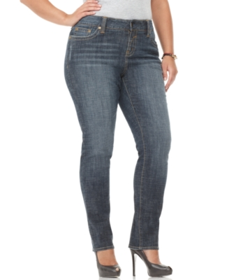 Hydraulic Plus Size Jeans, Skinny Medium Wash