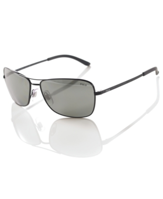 Polo Ralph Lauren Sunglasses, Metal Aviator