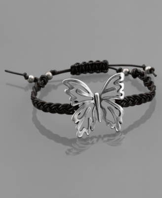 Fossil Bracelet, Butterfly Leather