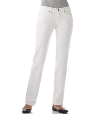 Lucky Brand Jeans Straight Leg Jeans, Minna Sweet and Straight Crème Fraiche