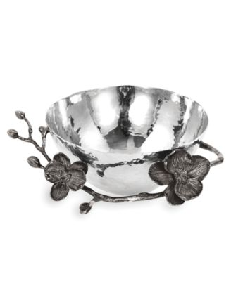 Michael Aram Black Orchid Nut Bowl