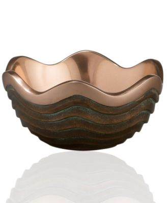 Nambe Metal Bowl, Copper Canyon Small