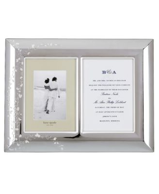 kate spade new york Gardner Street Invitation Frame