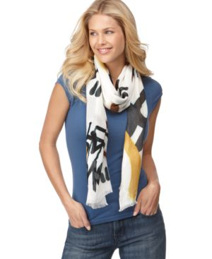 Rachel Rachel Roy Scarf, Love and Peace