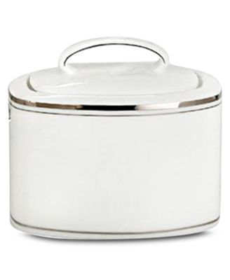 kate spade new york Library Lane Platinum Covered Sugar Bowl