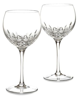 Waterford Stemware, Lismore Essence Balloon Wine Glasses, Set of 2