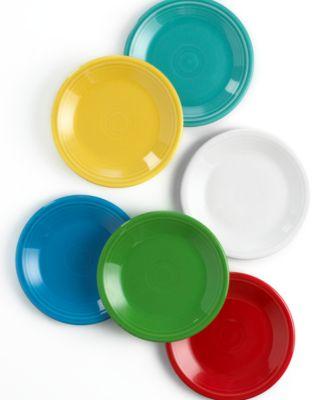 "Fiesta Dinnerware, 7 1/4"" Salad Plate"