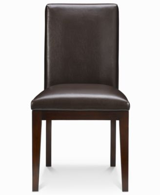 Addison Leather Dining Room Chair Furniture Macy 39 S