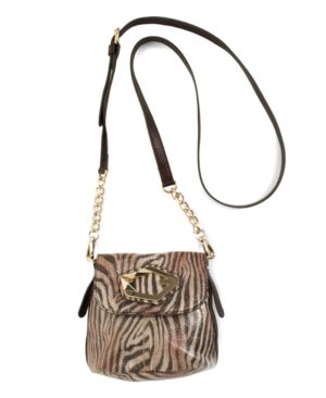 GUESS Handbag, Bobcat Mini Flap Crossbody Bag
