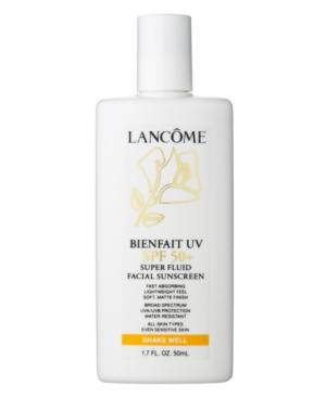 Lancome Bienfait UV SPF 50 Super Fluid Facial Sunscreen, 1.7 Fl. Oz.