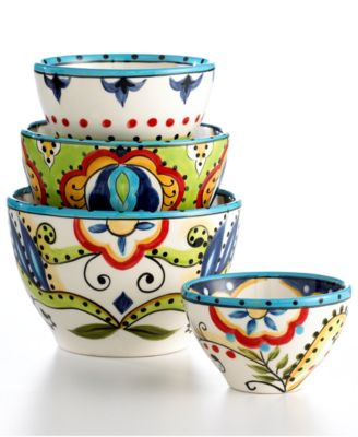 Espana Bocca 4 Piece Bowl Set