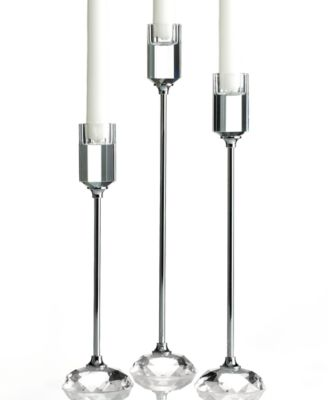 Lighting by Design Candle Holders, Set of 3 Profile Candlesticks