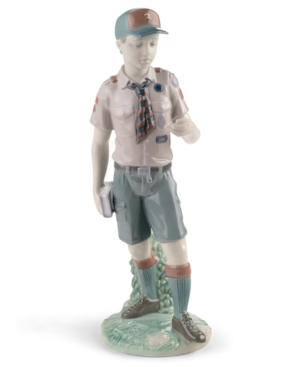 Lladro Collectible Figurine, Classic Scout