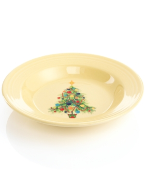 Fiesta Dinnerware, Christmas Tree Rim Soup Bowl