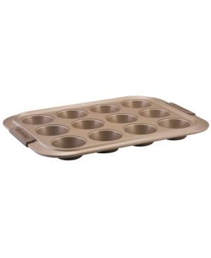 Anolon Muffin Pan, 12 Cup Advanced Bronze