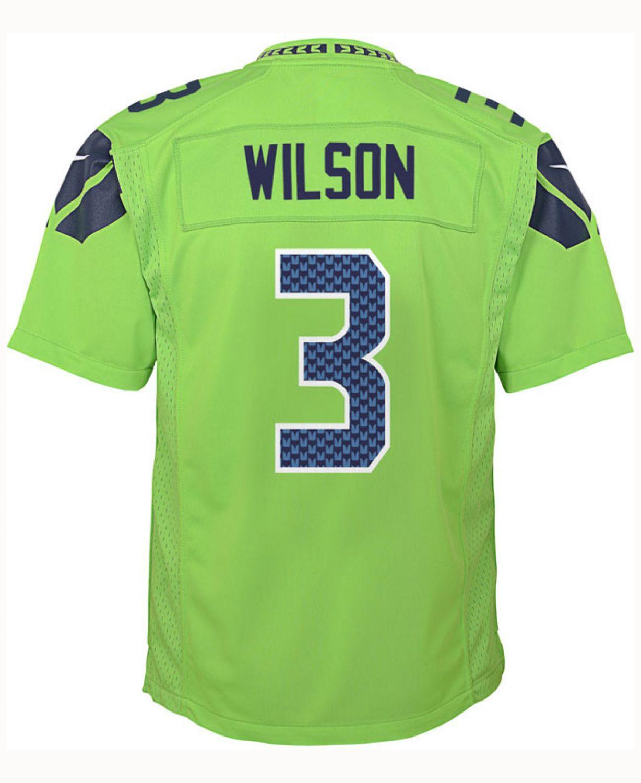 russell wilson jersey men