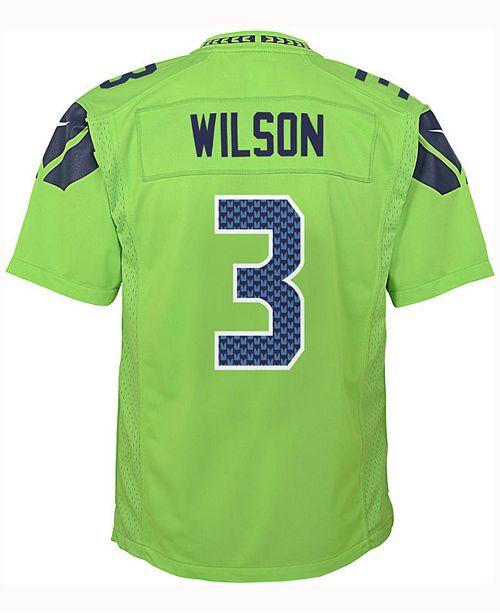 Nike Russell Wilson Seattle Seahawks Color Rush Jersey Big Boys 8 20 Reviews Sports Fan Shop By Lids Men Macy S