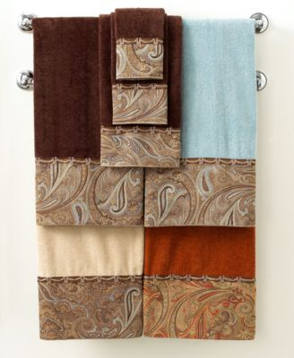 "Avanti Bath Towels, Bradford 11"" x 18"" Fingertip Towel"