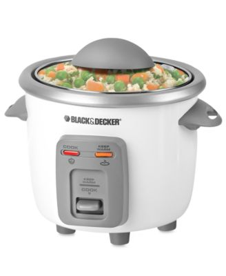 Black & Decker RC3303 Rice Cooker, 3 Cup...