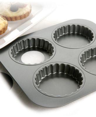 Chicago Metallic 4 Cavity Tartlet Pan