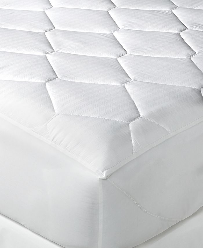 Tommy Hilfiger Home - Quilted Windowpane Twin Mattress Pad