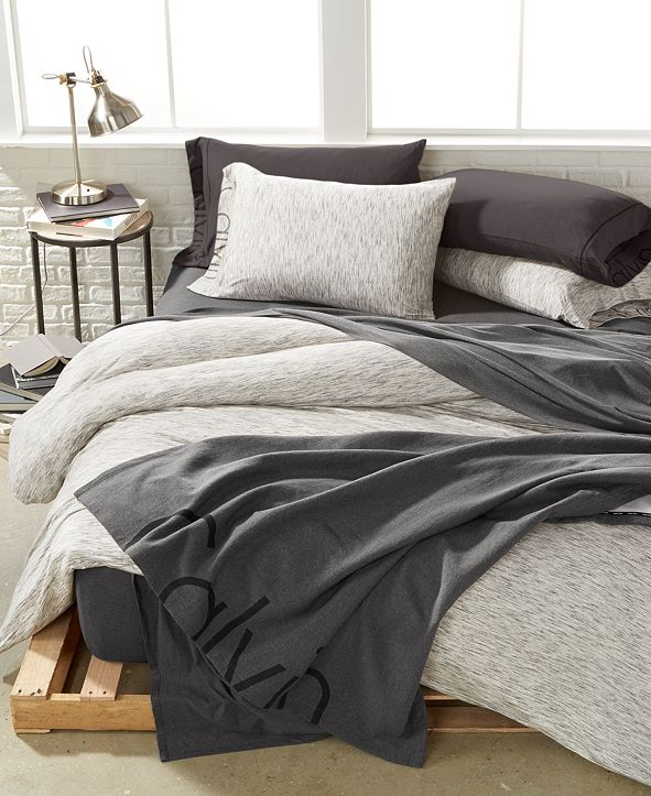 Calvin Klein Strata Marble Bedding Collection