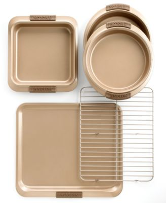 Anolon Advanced Bakeware Set, Bronze 5 Piece