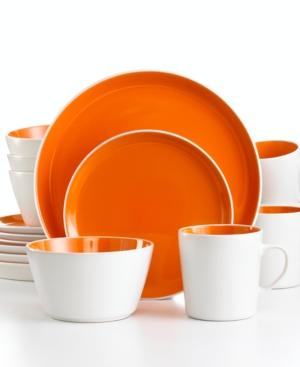 Oneida Dinnerware, Mango Color Burst 16 Piece Set