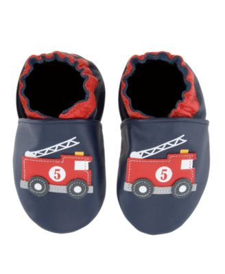 Robeez Baby Shoes, Boys Fire Engine