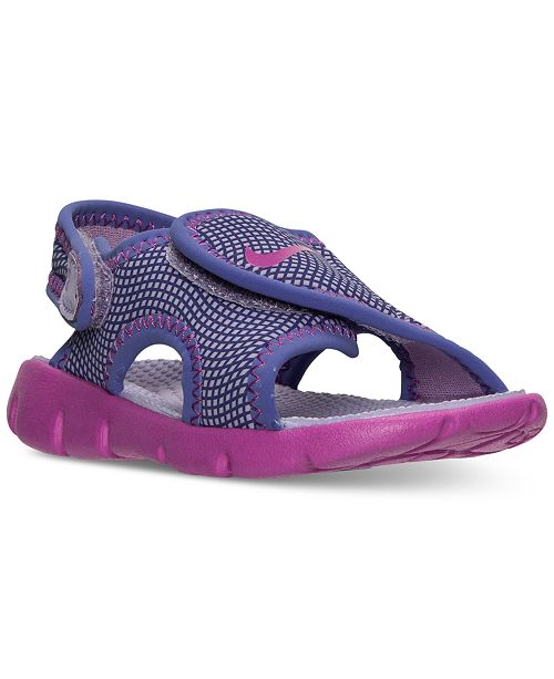 Nike Toddler Girls' Sunray Adjust 4 Sandals from Finish Line ...