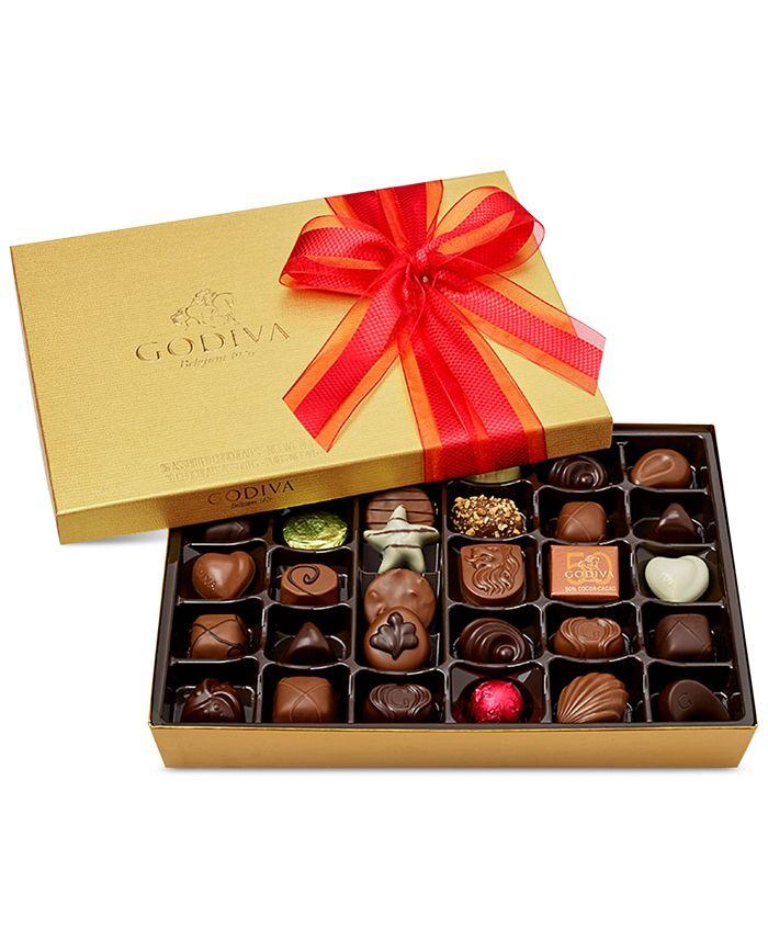 Godiva - 36-Pc Gold Gift Box