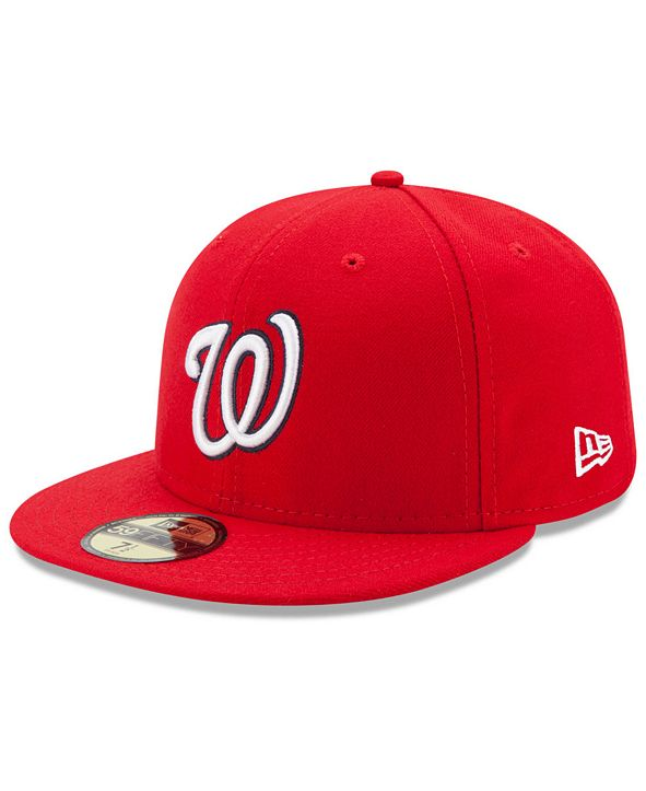 New Era Washington Nationals Authentic Collection 59FIFTY Cap
