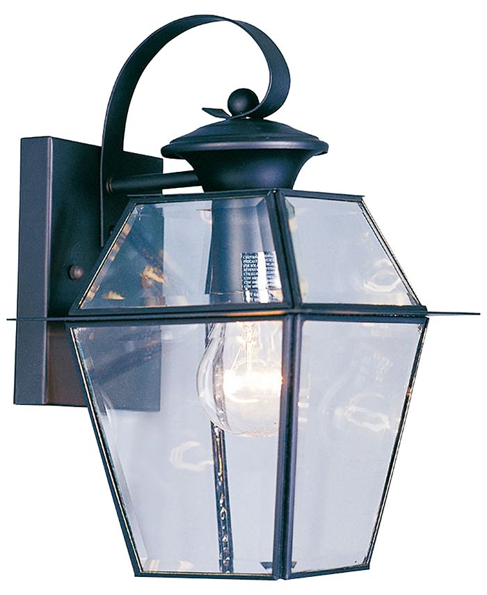 Livex - Westover 1- Light Glass Sconce