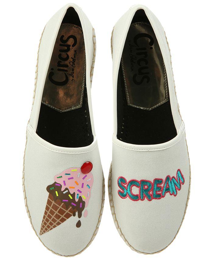 "Circus by Sam Edelman - Leni ""I Scream"" Espadrille Flats"