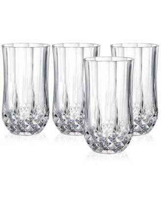 Cristal D'Arques Set of 4 Highball Glasses