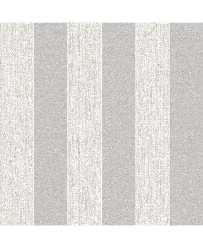 Graham & Brown - Ariadne White and Silver Wallpaper